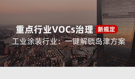 VOCs治理检测标准号清单及岛津解决方案